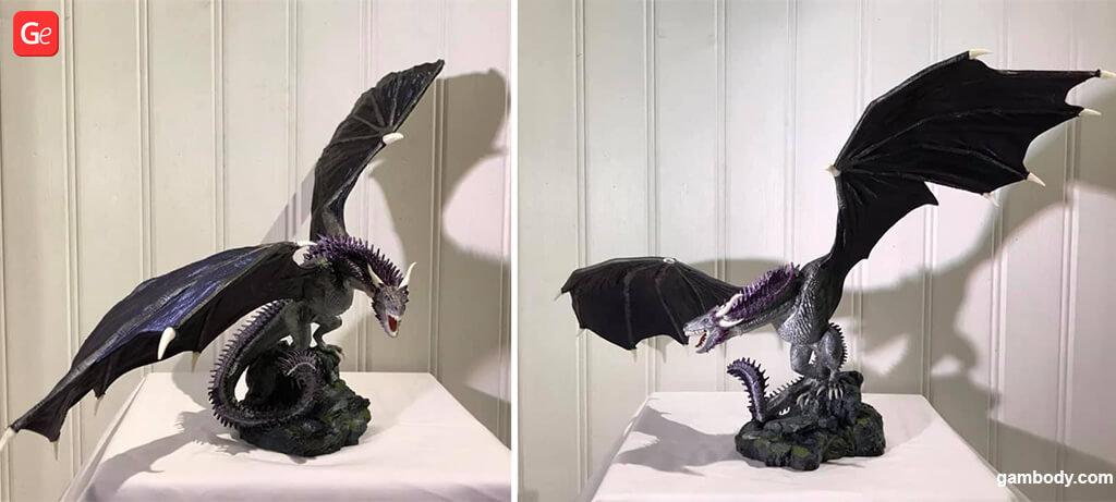 Trendy 3D printing models of November Viserion statue