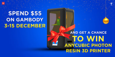 Celebrate Christmas with New Resin 3D Printer