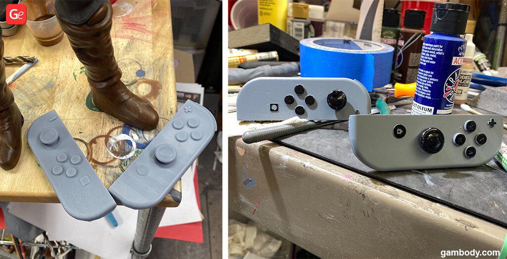 Base for Zelda Link figure DIY project