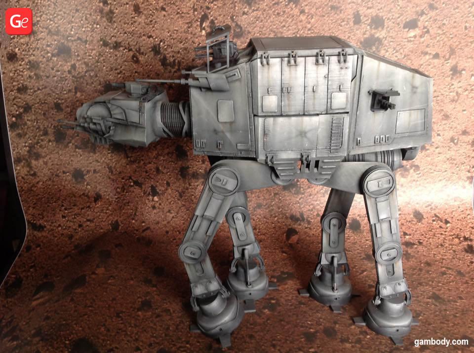AT-AT Walker Star Wars 3D printing models trends
