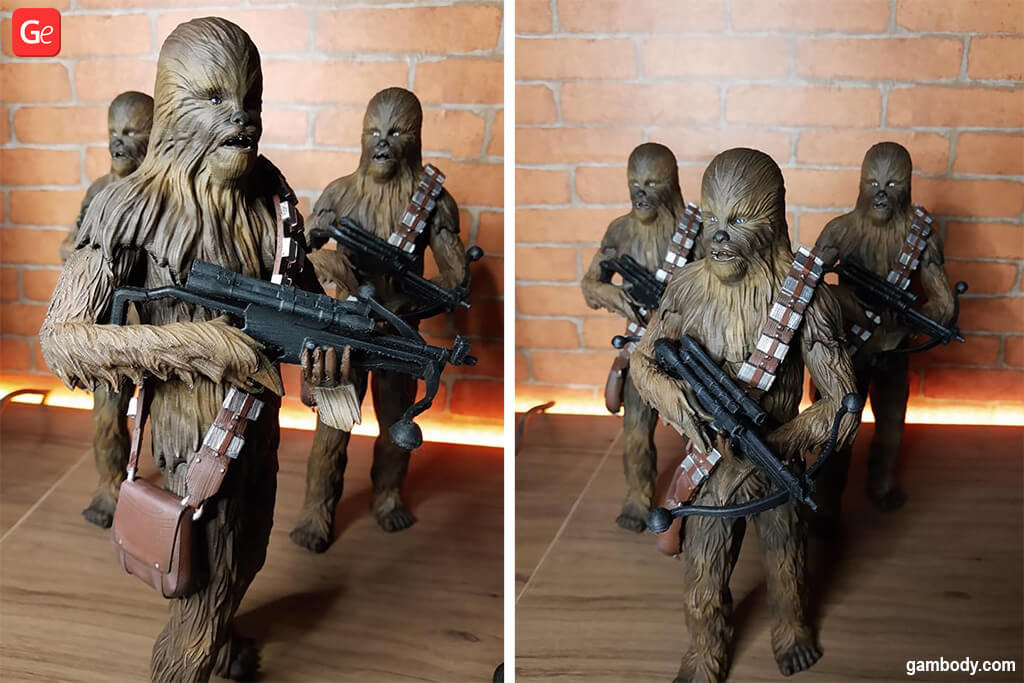 Chewbacca Star Wars 3D printing models December 2019 trends