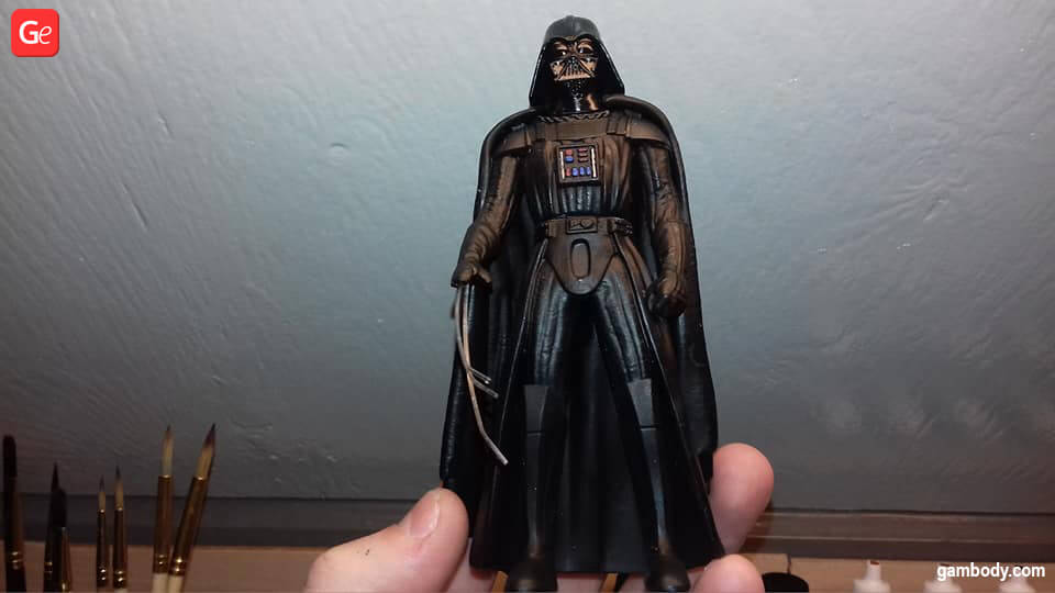 Darth Vader Star Wars 3D printing models December trends