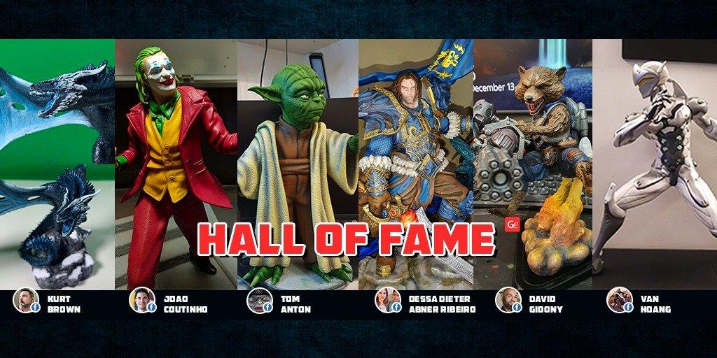 Gambody Hall of Fame winners December 2019