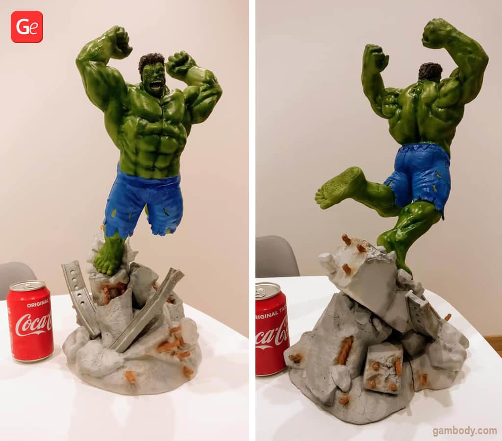 Hulk 3D printing model December trends