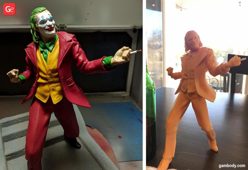 Arthur Fleck 3D printing model Joker 2019