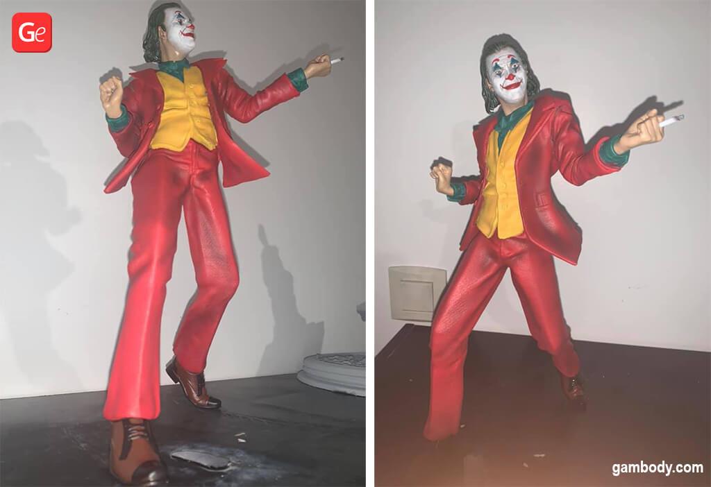 Joker Arthur Fleck DC Comics villain 3D printing model