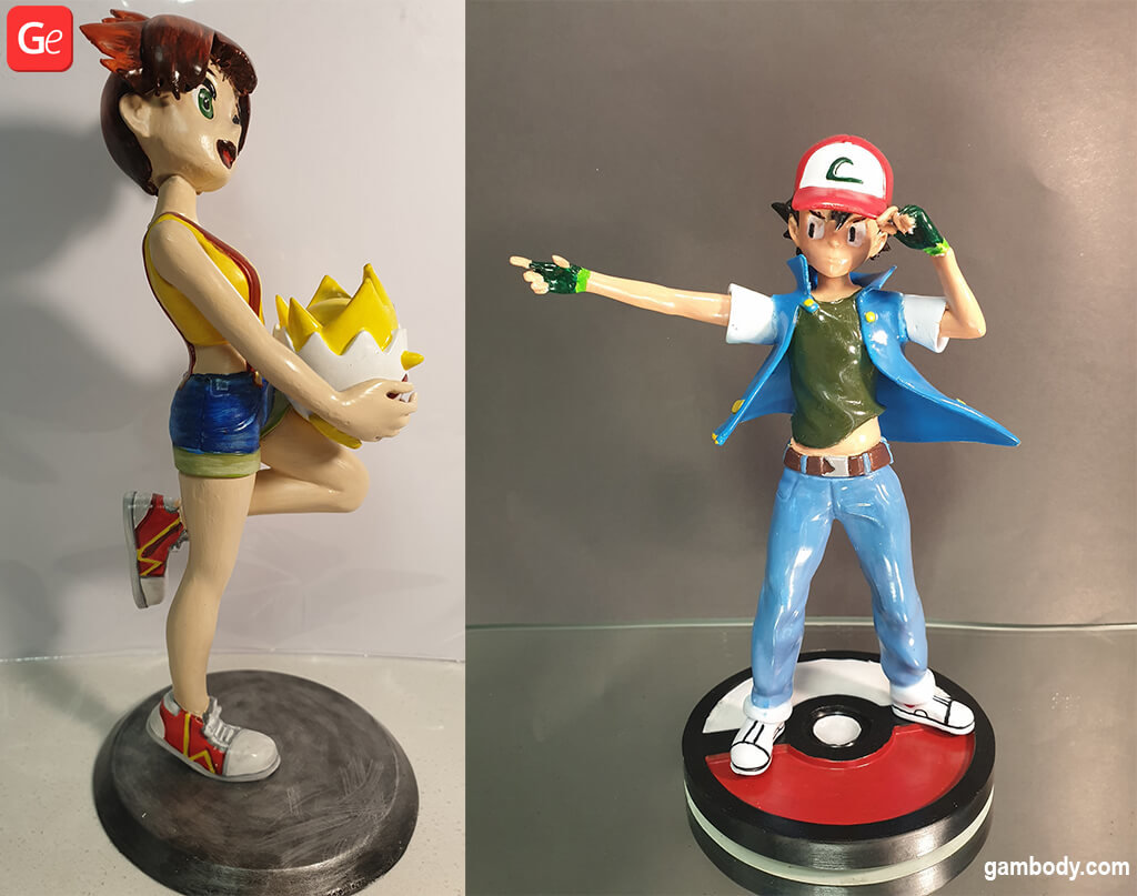 Pokemon 3D printing model December trends