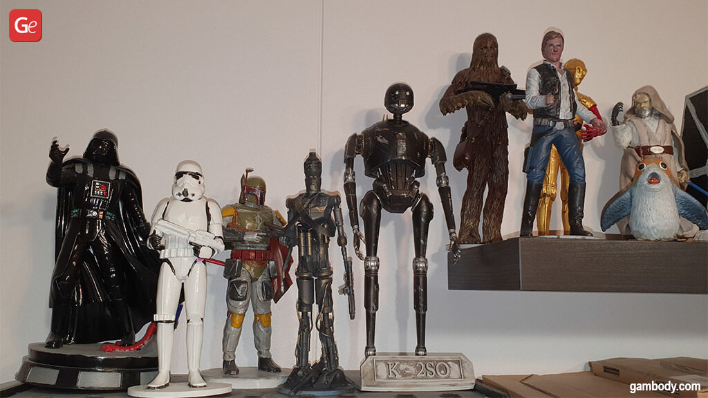 Top Star Wars models to 3D print