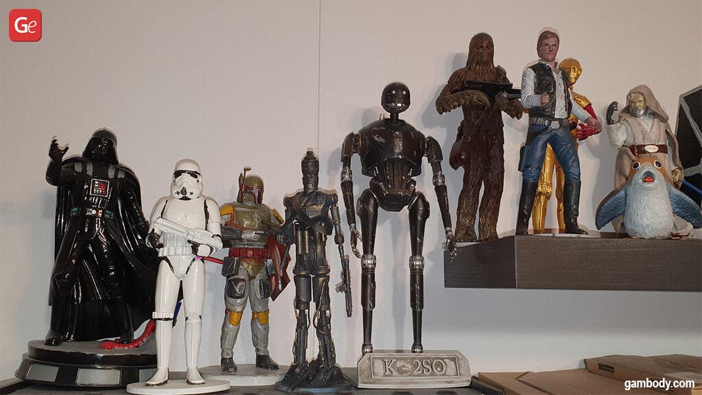 Top Star Wars models to 3D print