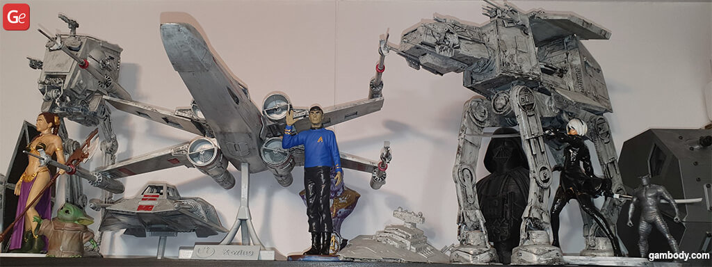 Popular Star Wars models to 3D print