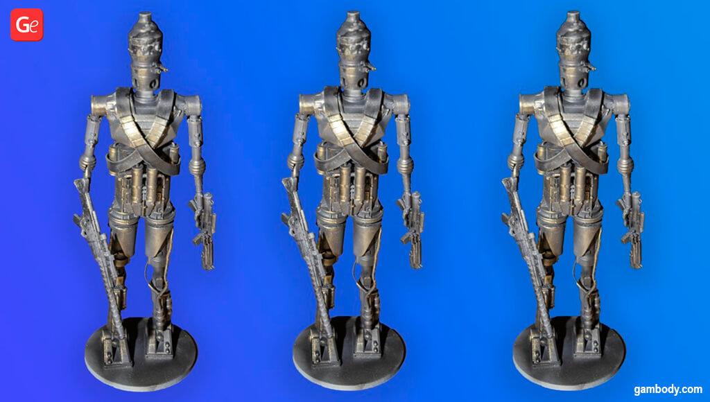 IG-11 Mandalorian figurines