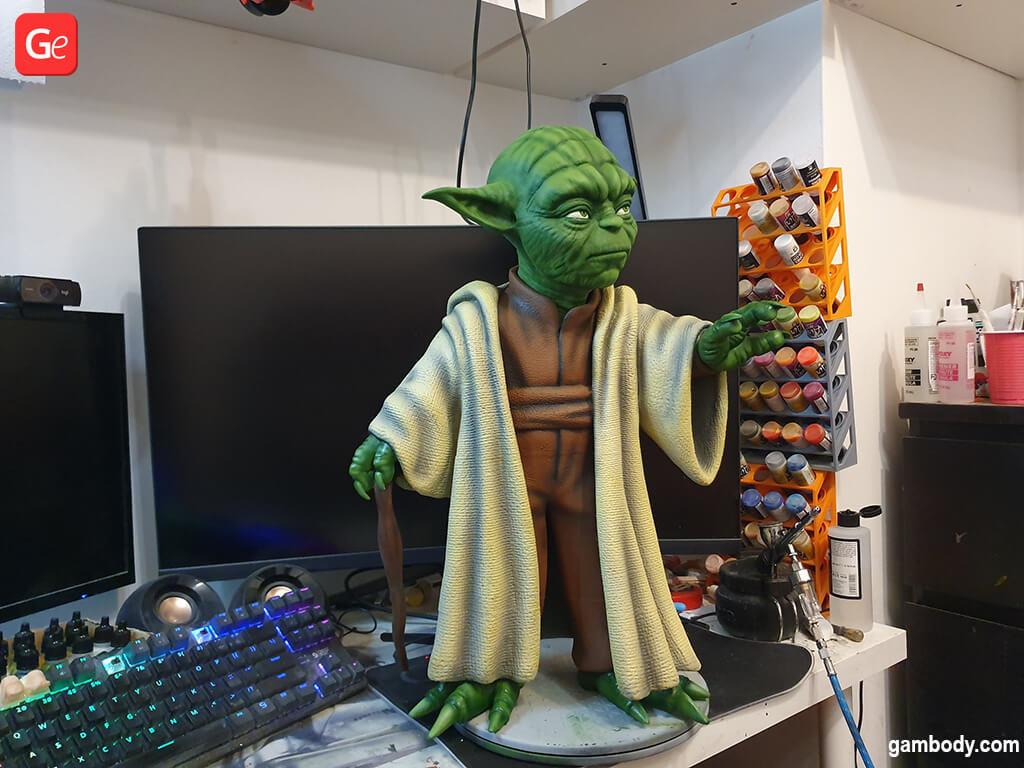 Master Yoda Star Wars 3D printing model December trends