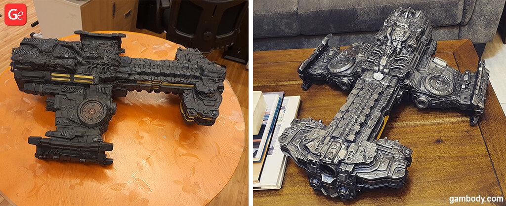 Terran Battlecruiser Starcraft 3D printing model December trends