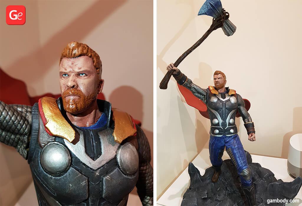 Thor superheroes 3D printing model STL