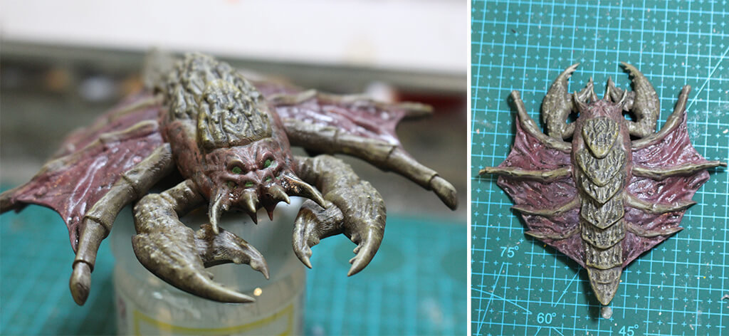 Zerg Drone 3D printing model from StarCraft game with STL files