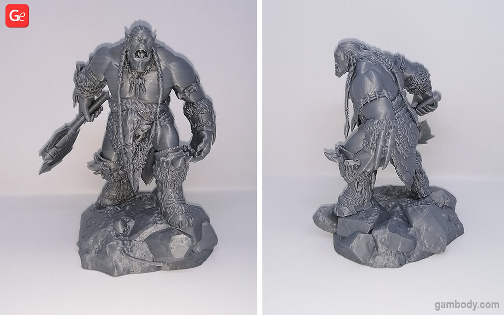 Durotan 3D printing model WoW coolest 3D prints