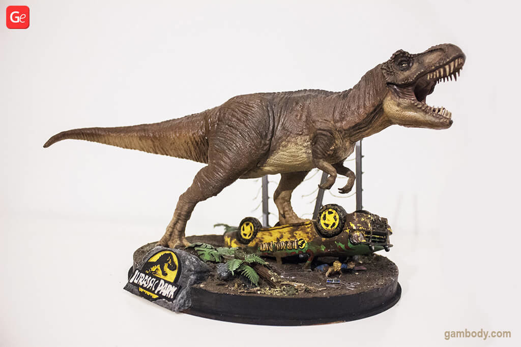 Jurassic Park Dinosaur coolest 3D prints of January