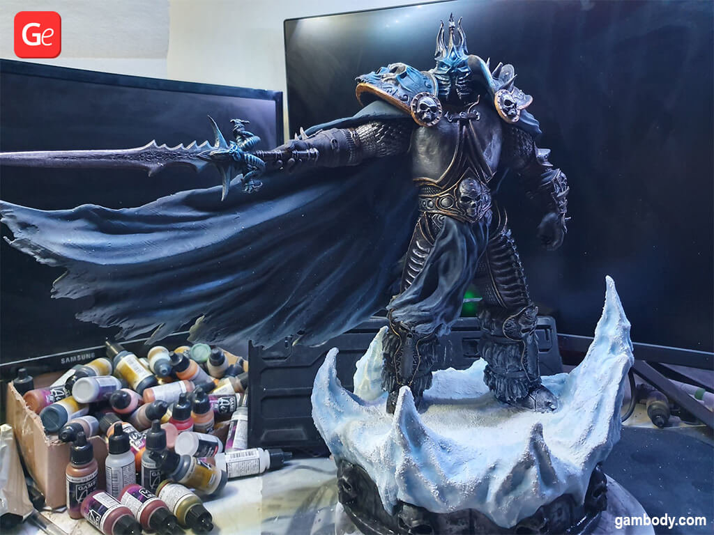 Lich King trending and coolest 3D prints of January