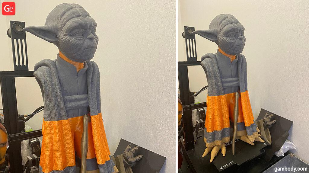 Master Yoda 3D printed model