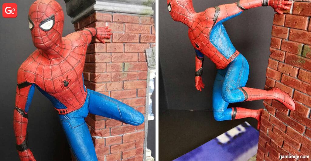 Spider-Man 3D printing model