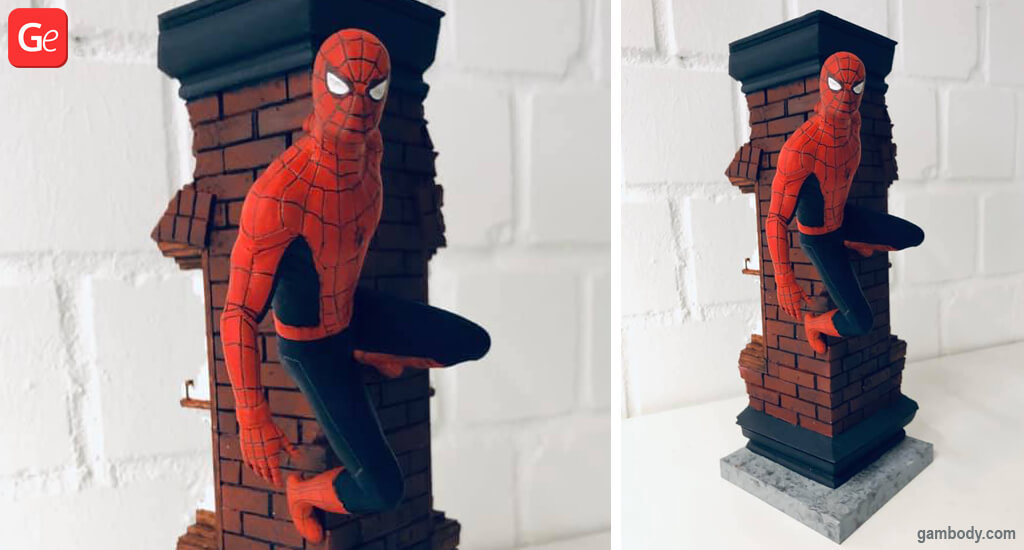 Spider-Man figurine coolest 3D prints of January