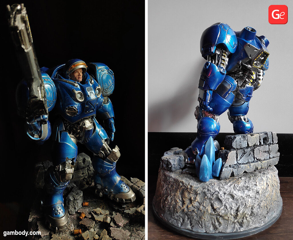 Terran Marine coolest 3D prints of January 2020