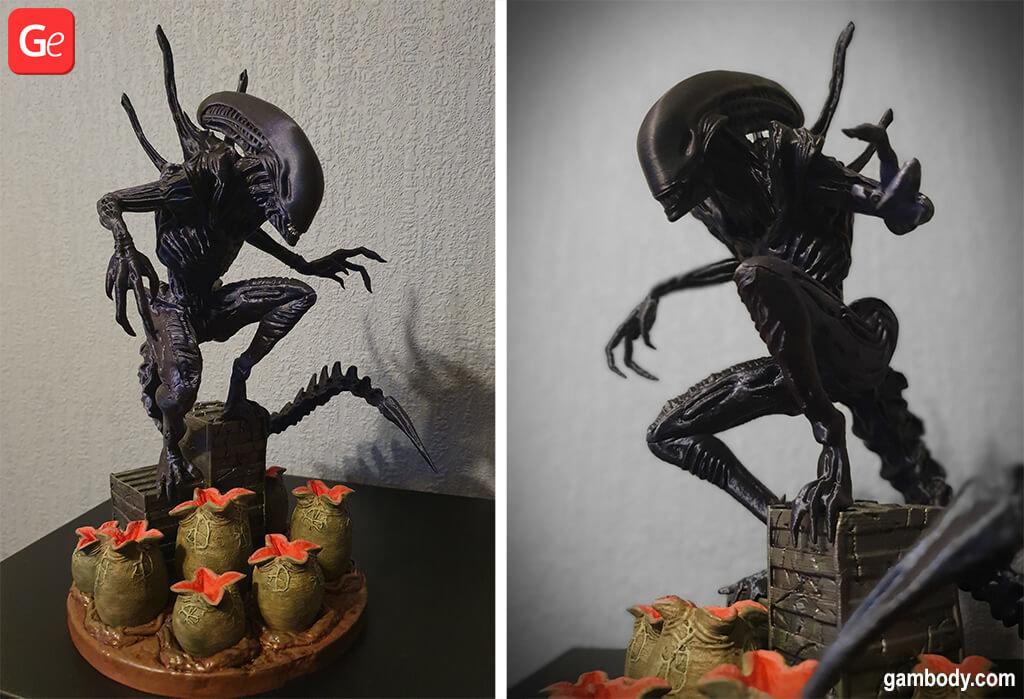 Alien 3D printing trends 2020 movie model