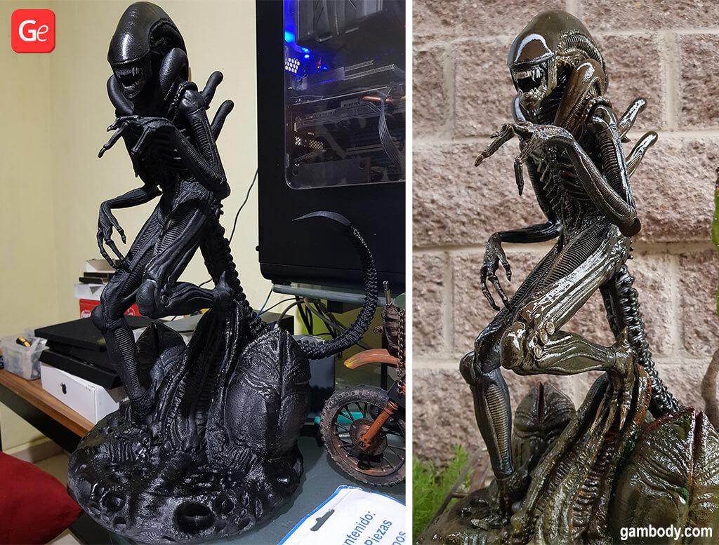 Alien movie 3D printing figurine 2020 trends