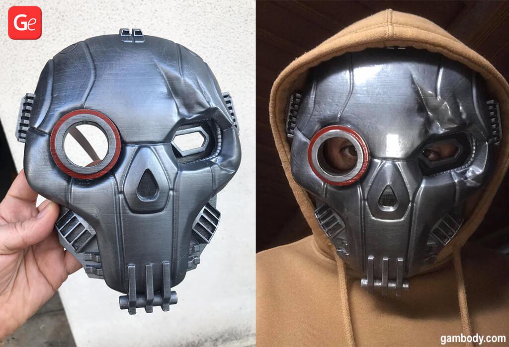 MWO Atlas Mask video game 3D printing model