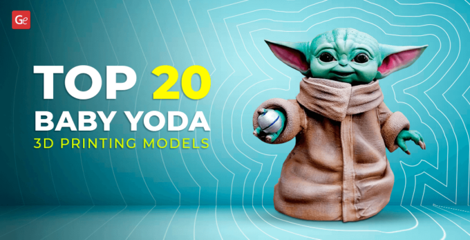 Top 20 Baby Yoda 3D Printing Models with STL Files: The Child Figurine You Will Love to Make