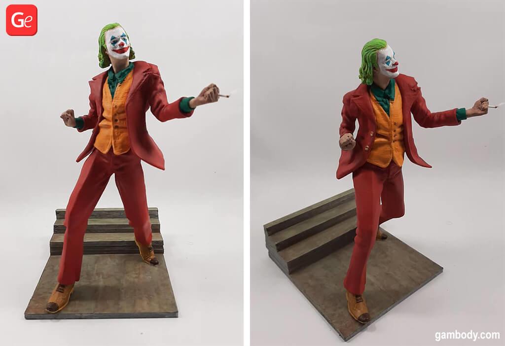 Joker 3D printed figurine February trends 2020