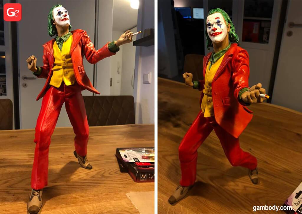 Joker movie 3D printing figurine