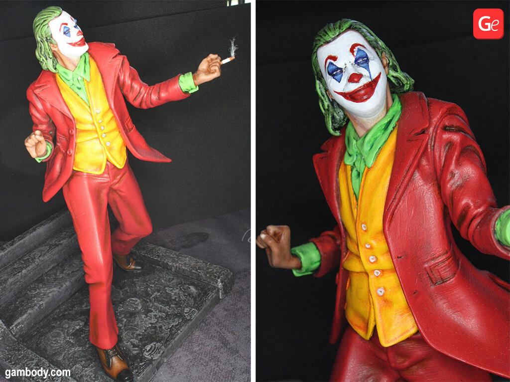 Arthur Fleck as Joker 3D printed model February trends 2020
