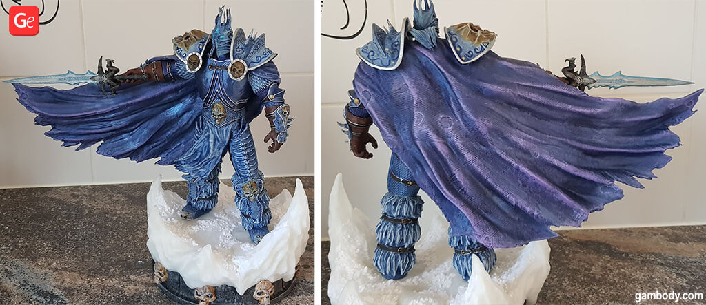 Lich King video game models to 3D print 2020 trends