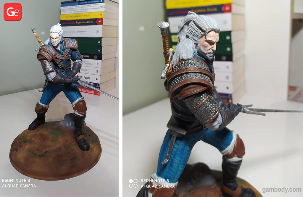 Witcher model to 3D print video game models