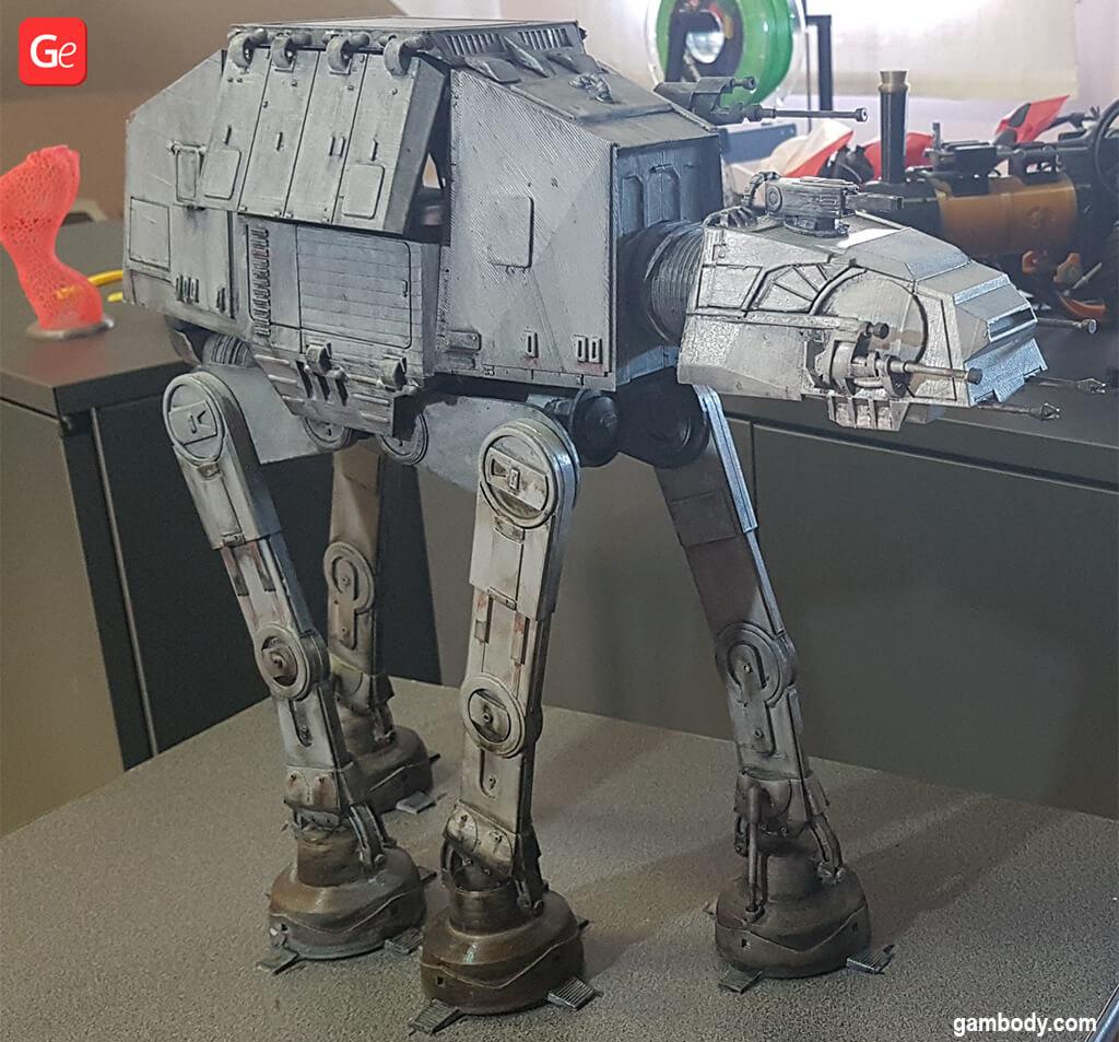 AT-AT Walker 3D printed model