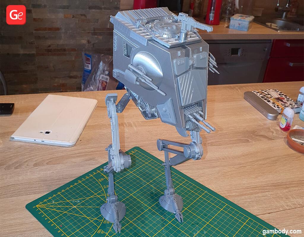AT-ST Walker model popular 3D prints