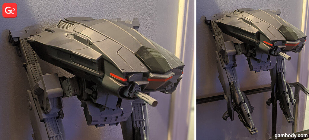 ED-209 droid 3D printing model
