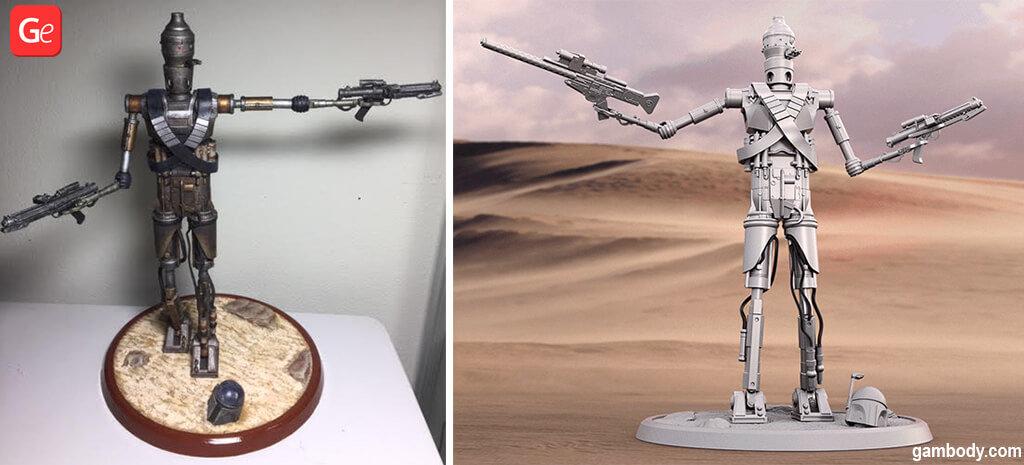 IG-11 Droid The Mandalorian popular 3D prints 2020