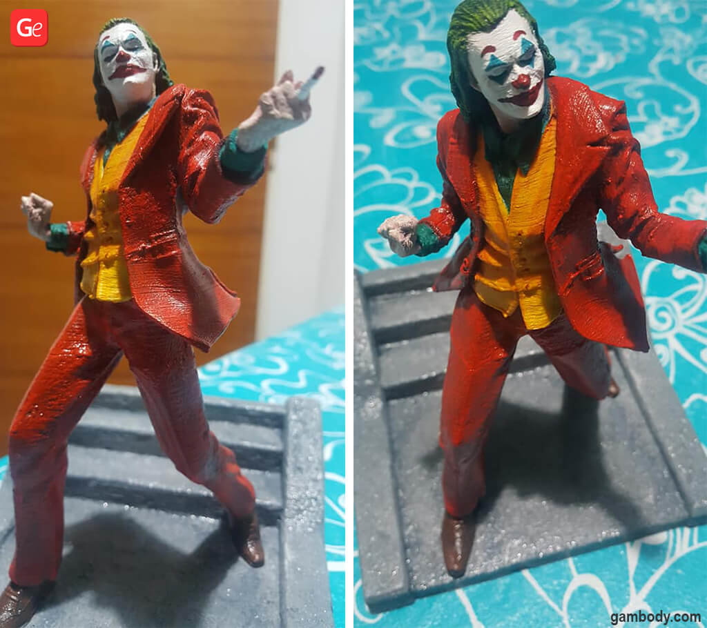 Joker figurine popular 3D prints 2020