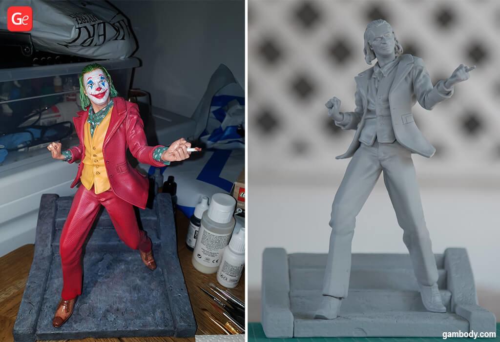 Arthur Fleck in Joker popular 3d prints 2020