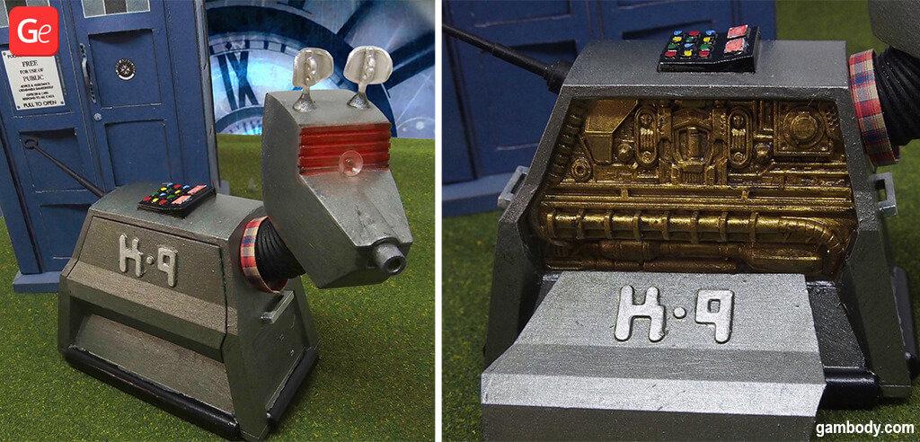 K-9 Mark robot 3D printing model