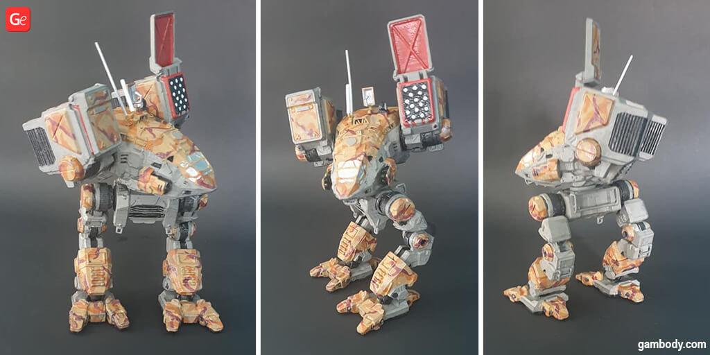 MWO Catapult best 3D print models