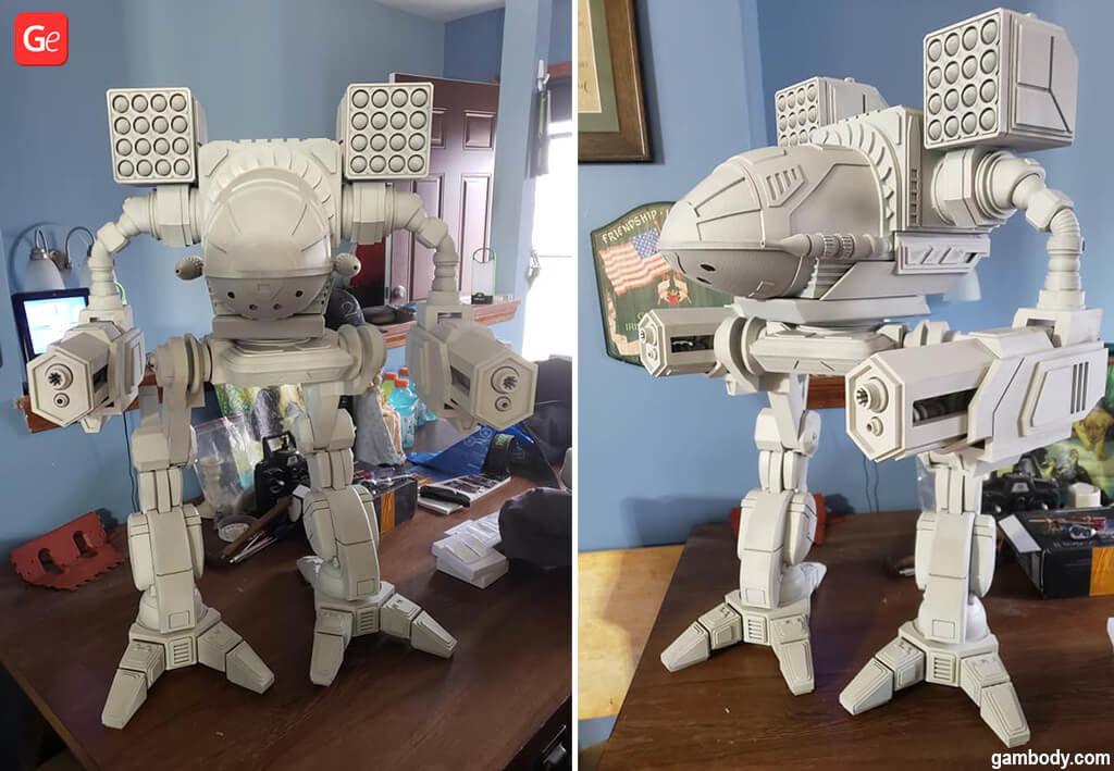 Mad Cat MWO best 3D print models