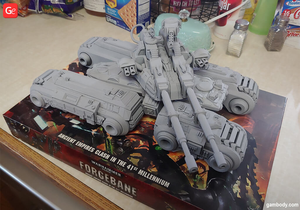 Mammoth Tank popular 3D prints of 2020