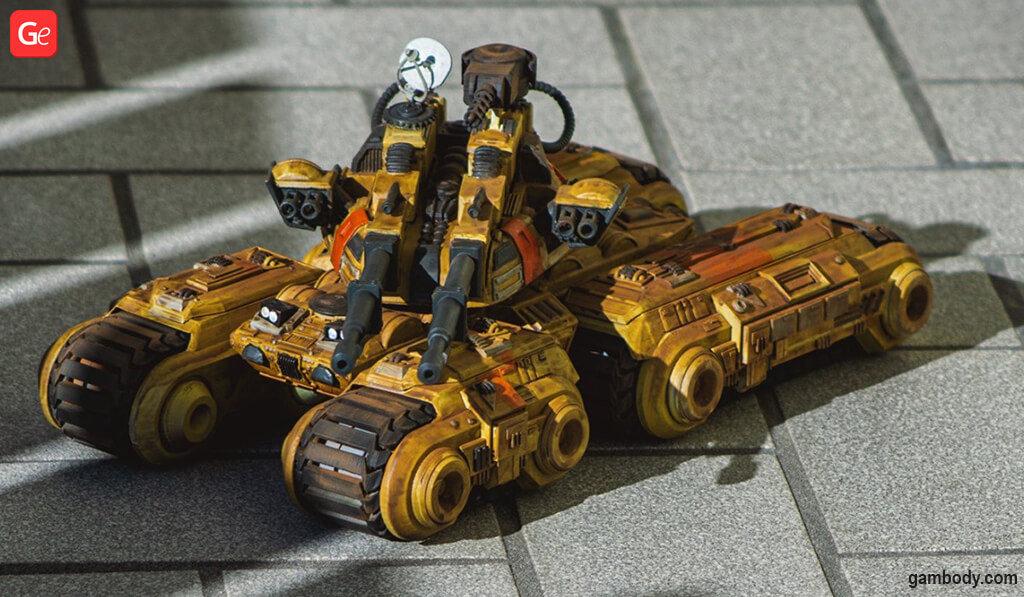 Mammoth Tank best 3D printing models 2020