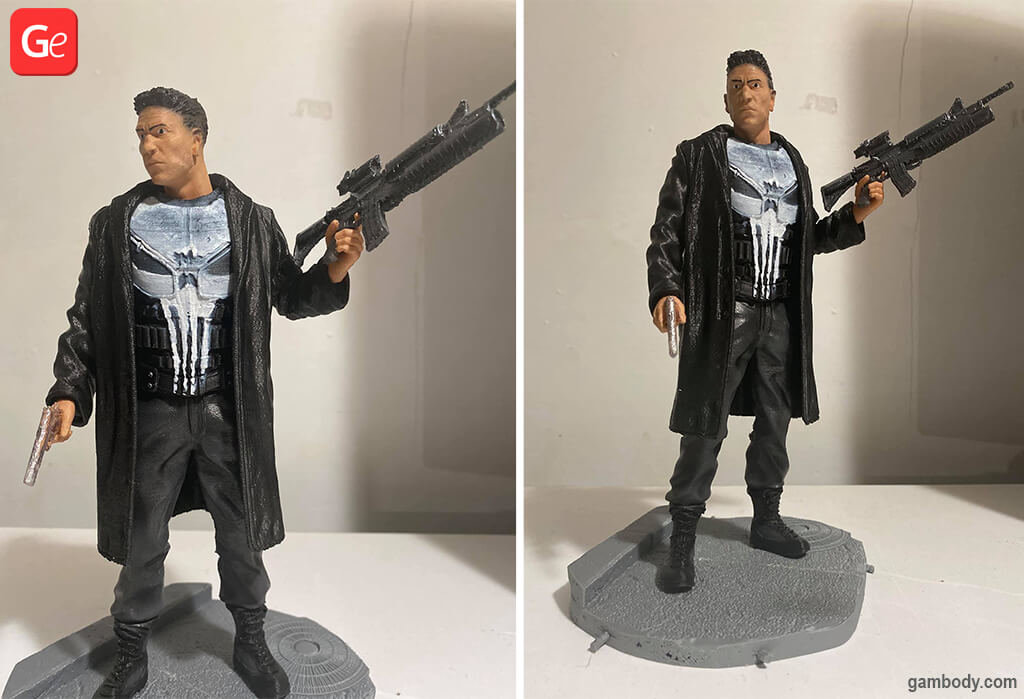 Punisher popular 3D prints or what to 3d print in 2020