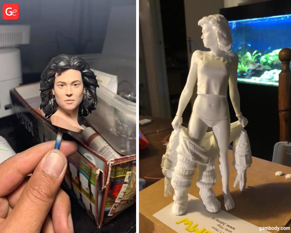 Ripley Alien what to 3D print