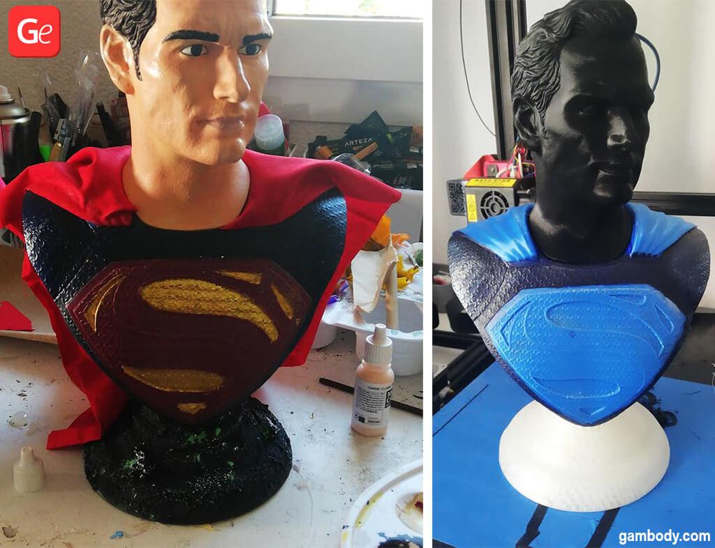 Superman popular 3D prints