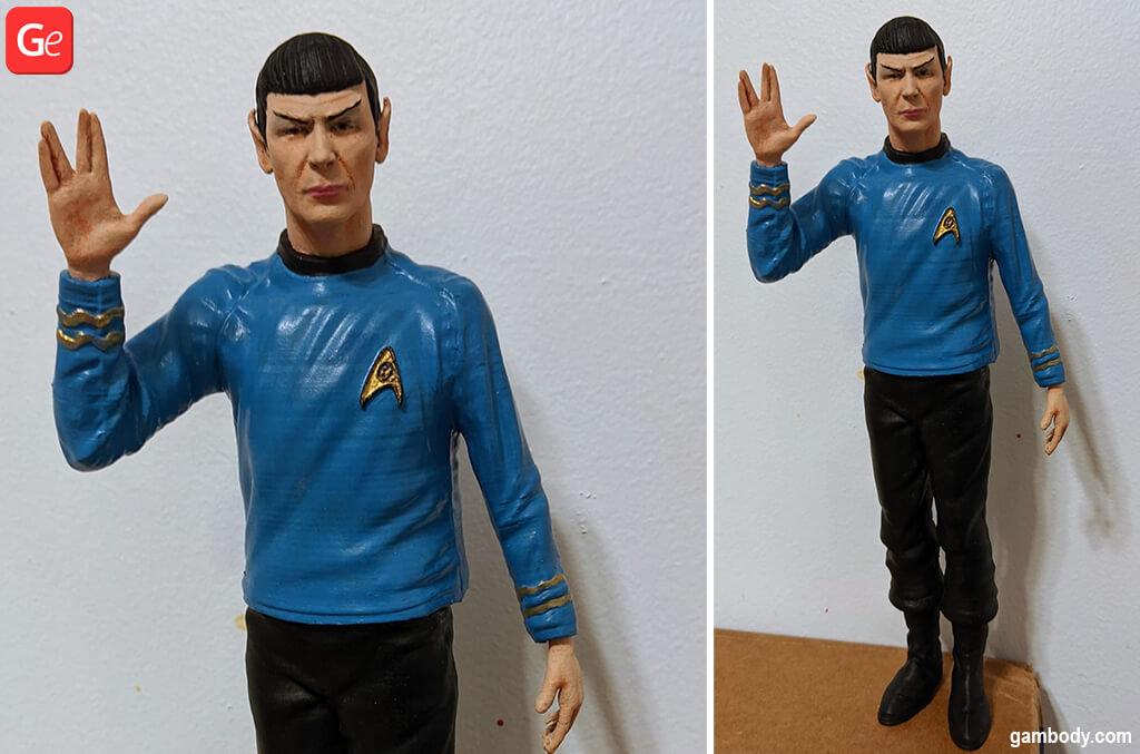 Spock Star Trek popular 3D prints